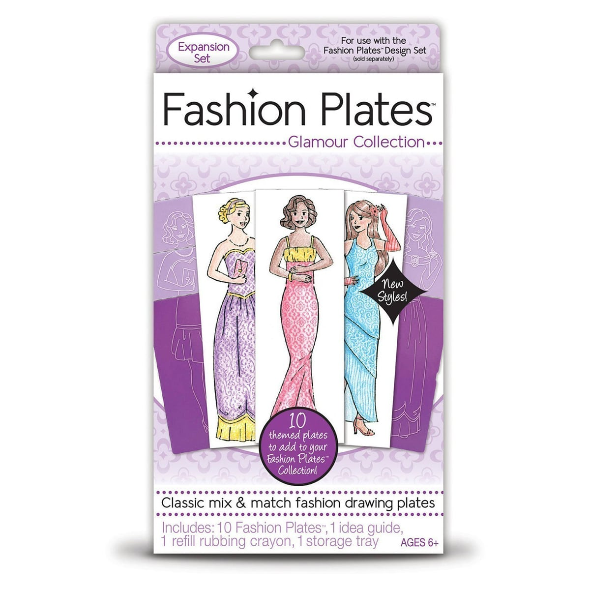 Fashion Plates Glamour Collection