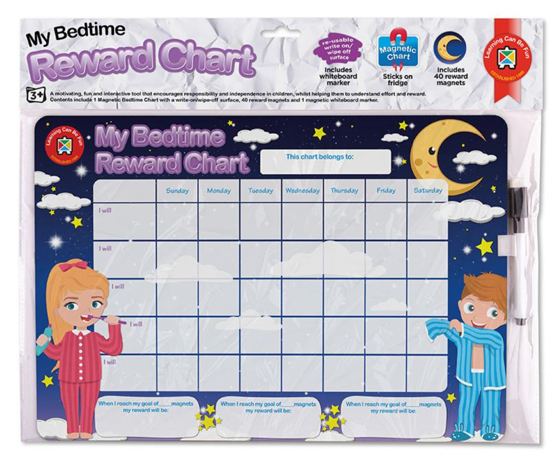 Magnetic Reward Chart My Bedtime