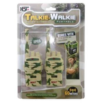 Walkie Talkie Camouflage all Batteries included
