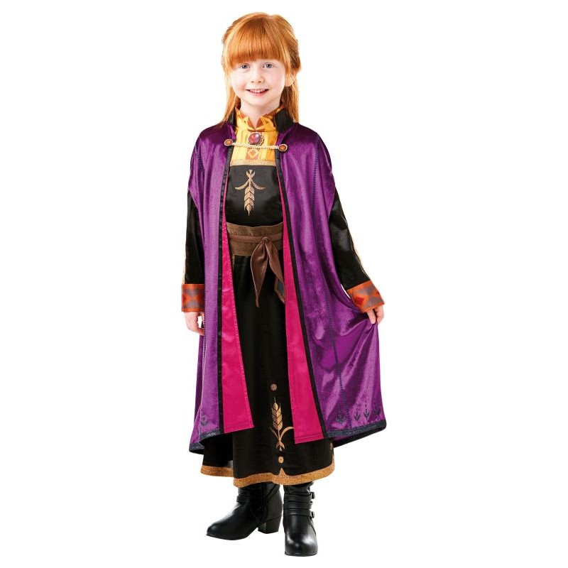Anna Frozen 2 Deluxe Travelling Costume Size 6-8