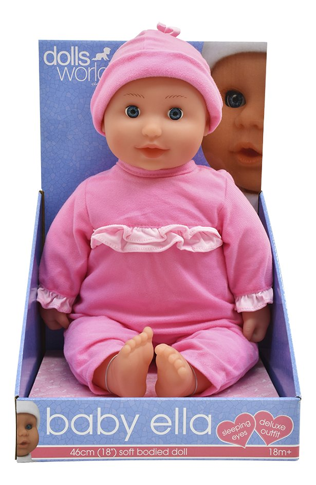Dolls World Baby Ella 46cm