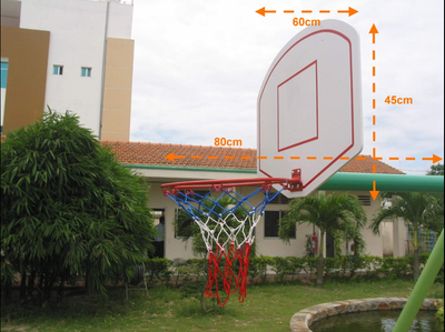Basketball Hoop And Frame (Add To Swing)