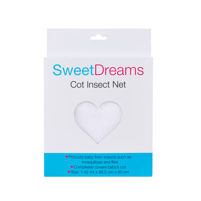 Sweet Dreams Cot Insect Net Boxed