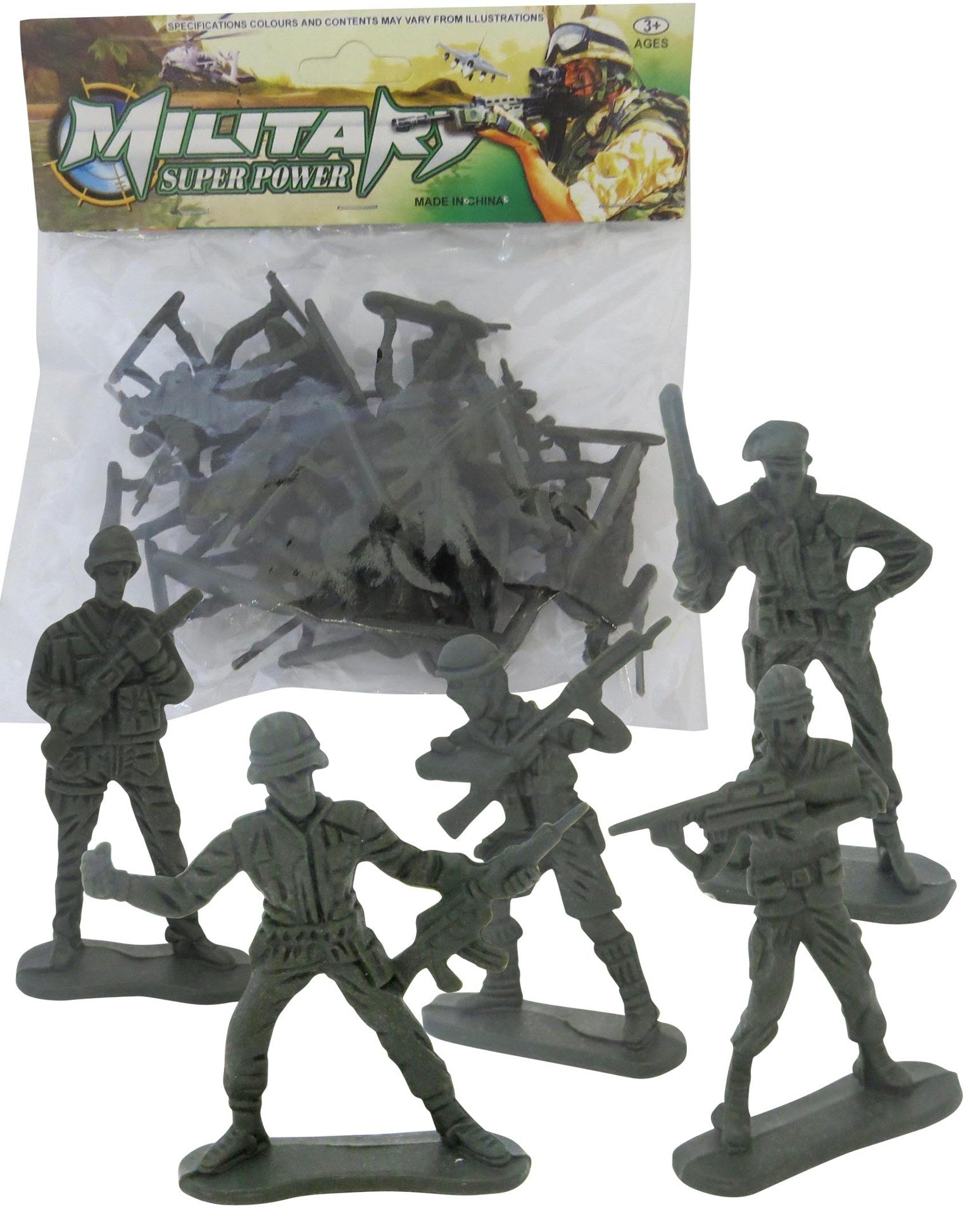 Military Super Power Army Men 20pc Pack
