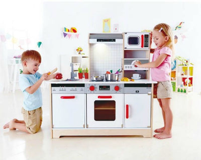 Hape All in 1 Kitchen 15 pieces
