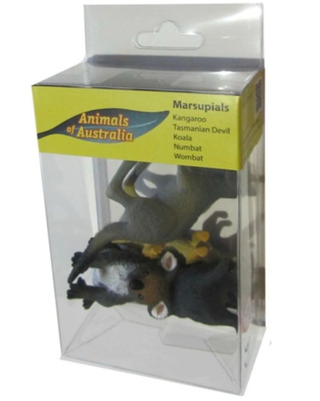 Animals Of Australia Marsupials Set Of 5