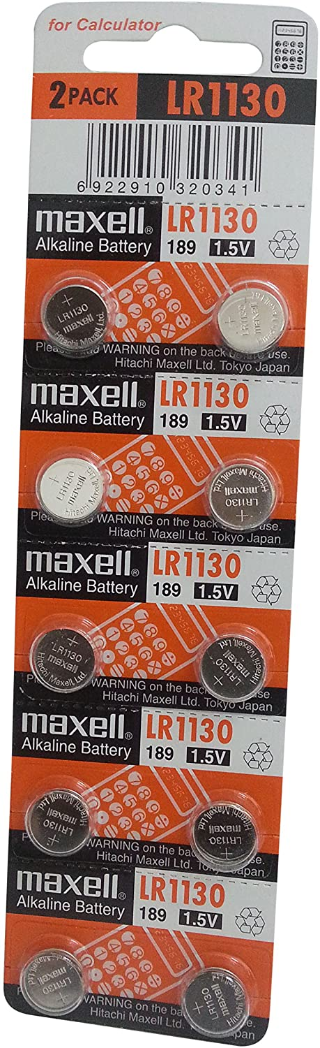 Maxell LR1130 2 pack