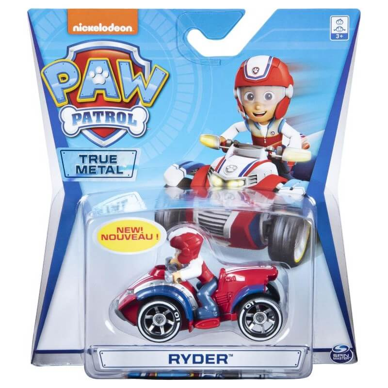 Paw Patrol True Metal Vehicle Asstd