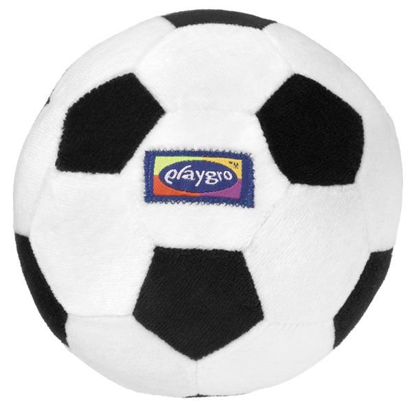 My First Soccer Ball Black/White