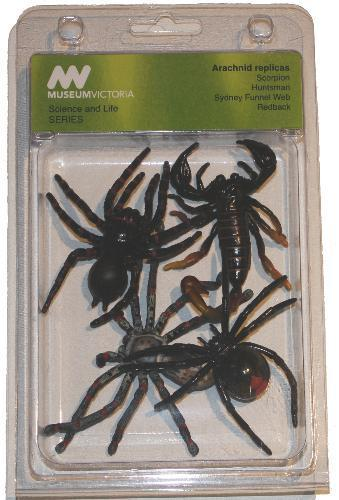 Spiders/Scorpion Set Of 4