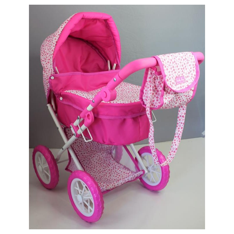 Sally Fay Large Deluxe Dolls Pram