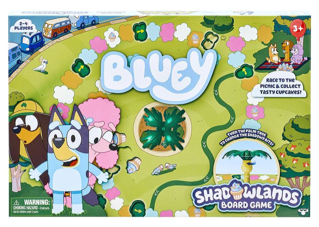 Bluey Shadow Lands Board Game