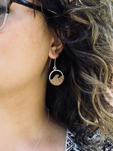 Breaker Waves Earrings