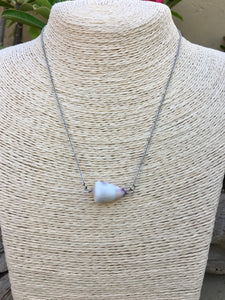 Steel Cone Shell Necklaces