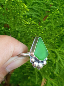 Green Bubble Ring