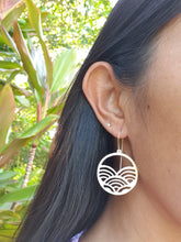Load image into Gallery viewer, Saw Pierced Brass Earrings *Limited Style*
