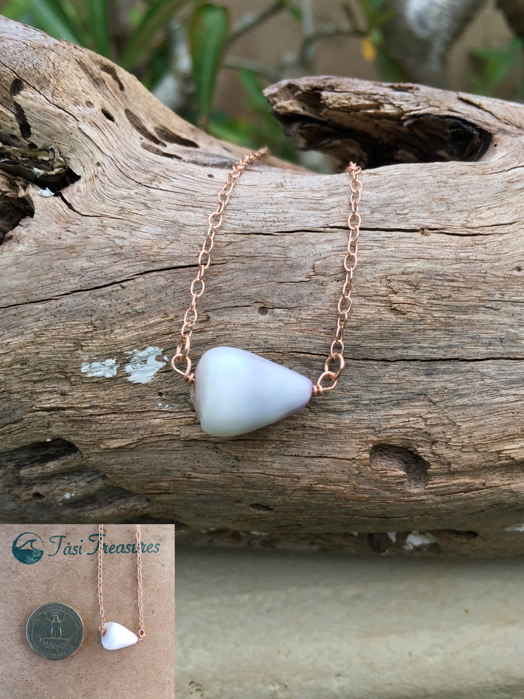 Rose Gold Shell Necklaces