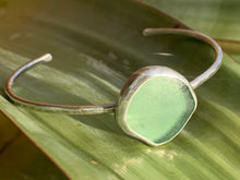Load image into Gallery viewer, Sea Glass Open Bangles