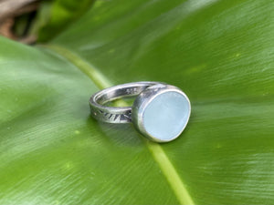 Scottish Seaglass  Rings