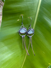 Load image into Gallery viewer, Sea Glass Jellyfish Earrings