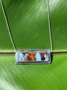 Petrified Wood Opal Necklaces
