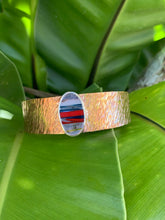 Load image into Gallery viewer, Brass Statement Cuff with Surfite