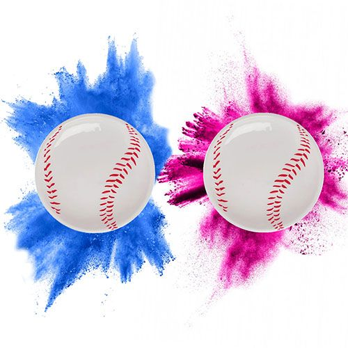 Gender Reveal Baseball (Single)
