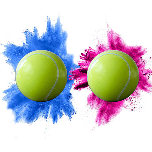 Gender Reveal Tennis Ball (Single)