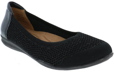 Vanesa - Women's knit ballet flat - Biza Shoes -