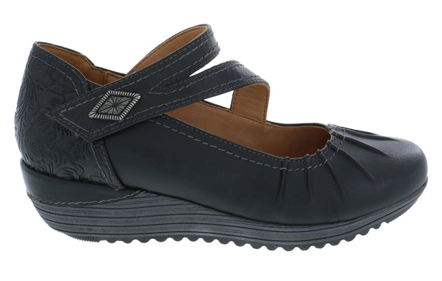 Bailey - Comfortable Mary Jane Shoes- Biza Shoes -