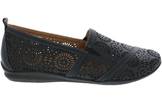 Viola - Women's Leather Loafers - Biza Shoes