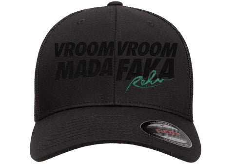 Vroom Vroom MF Black FlexFit Hat