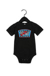 Future Racer Infant Black Onesie