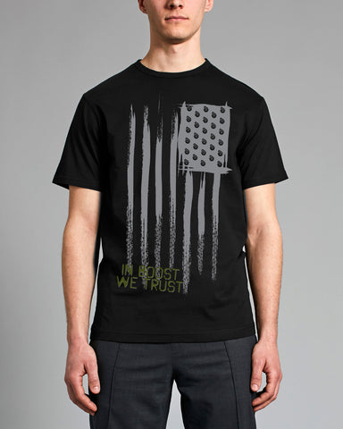 IN BOOST WE TRUST MENS TEE