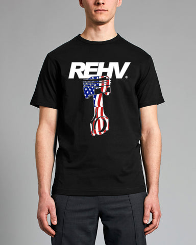 REHV PISTON MEN'S T-SHIRT
