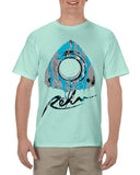 Rotary Drip Men's T-Shirt in Celadon