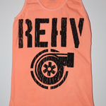 REHV TURBO WOMENS CORAL TANK