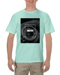 TURBO SQUARE MEN'S CELADON T-SHIRT
