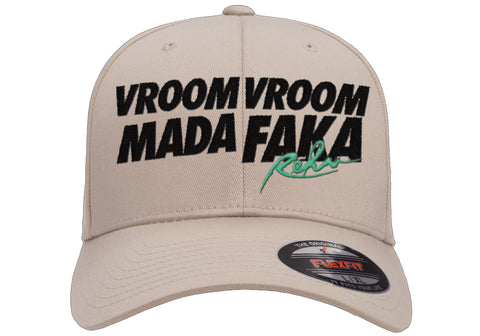 Vroom Vroom MF Stone FlexFit Hat