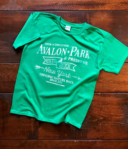Limited Edition Vintage Avalon T-shirt, Youth (Green)
