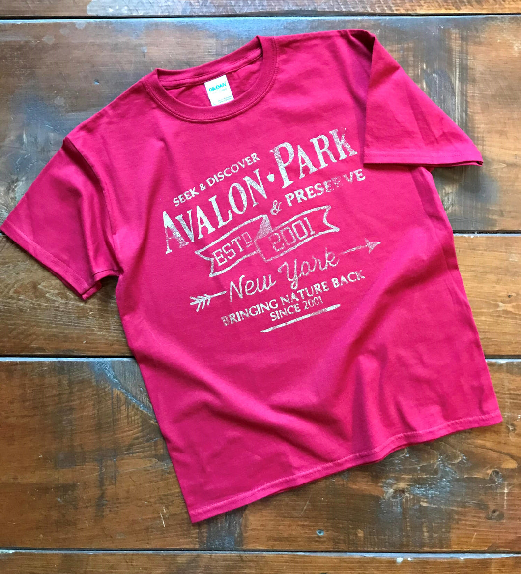 Limited Edition Vintage Avalon T-shirts, Youth (Red)