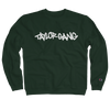 Core Logo on Dark Green Champion Crewneck