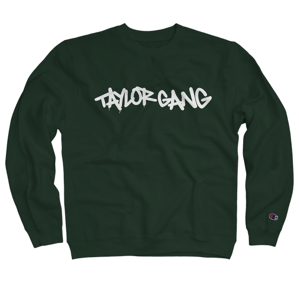 Core Crewneck in Dark Green