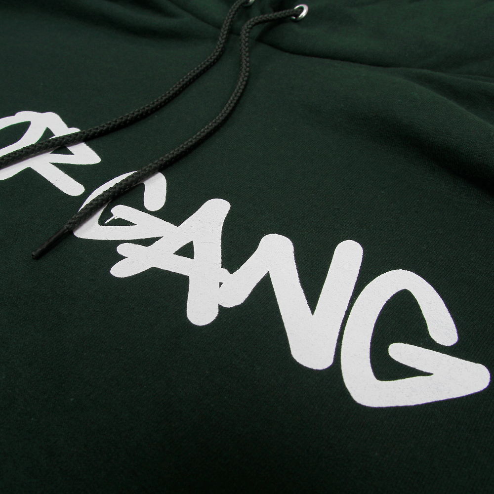 Core Hoodie in Dark Green