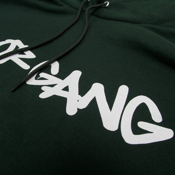 Core Logo on Dark Green Champion Pullover