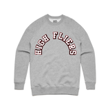 High Fliers Crewneck in Gray
