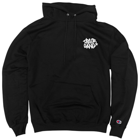 Core Logo on Black Champion Pullover