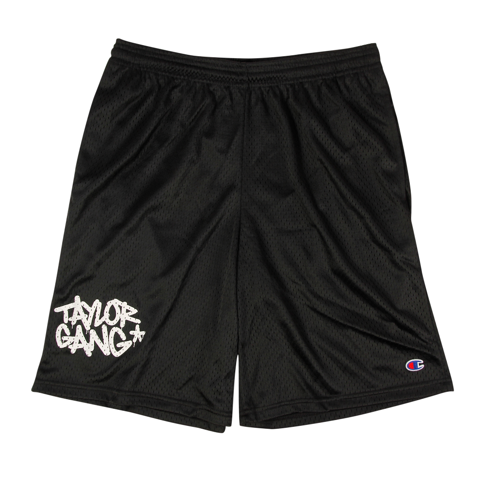 Team Shorts in Black