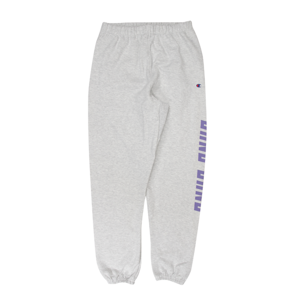 Gang Gang Sweatpants in Silver