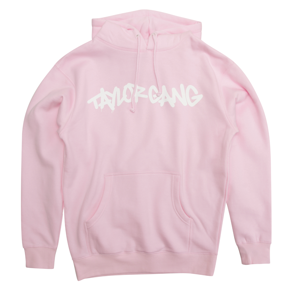 Core Hoodie in Light Pink